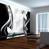 Papier peint intissé 100x70 cm - 3 couleurs au choix - Top vente - Papier peint - Tableaux muraux déco ...