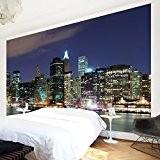 Papier peint intissé - Manhattan in New York City - Wall Mural Large papier peint photo intissé tableau mural photo