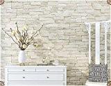 Papier peint papier peint brique Faux Vintage peint stéréo 0.53M*9.5M,brique blanche