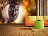 Papier peint photo Méditation dans différentes tailles–Comme Papier peint ou papier peint intissé au choix–PVC sans odeur, impression latex écologique ...