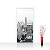 Papier peint porte papier peint de porte 100x 211cm Panneau de porte autocollant O. non-tissé Premium Plus–poster pour porte PAPIER ...