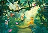 Papier Peint Pour Chambre D'Enfant Motif Disney Le Roi Lion Jungle 368 X 254 Cm