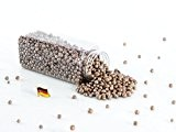 Perles décoratives / billes d'argile PERLA, café, 2-8 mm, bouteille de 605 ml, fabriqué en Allemagne - Déco de table ...