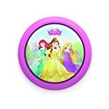 Philips Veilleuse poussoir LED Motif Princess Rose