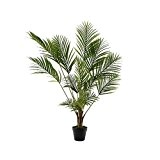 Plante artificielle palmier en pot 125cm décoration intérieur Maison