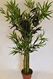Plantes artificielles - Bambou artificiel hauteur 1,2m livré en pot