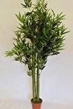 Plantes artificielles - Bambou artificiel hauteur 1,5m livré en pot