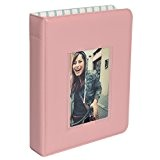 Polaroid Album photo 64 poches avec couverture transparente pour papier photo 5 x 7 cm (Snap, Zip, Z2300) - Rose
