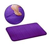 Pomelo Best Coton Tapis de Bain, 40 x 60 cm (Violet)