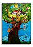 Poster pour chambre d'enfant–Désir de Ott E.M. coton Heid Homme de schnurverlag