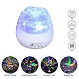 Projecteur ciel étoilé veilleuse liwiner Lampe de Projection de Nuit Étoilée Rotative Chevet Table de deco chambre bebe chambre enfant ...