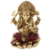 Puckator GAN07 Statue Ganesh Rouge 16 cm