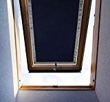 Pare-vue Store Rail lucarne store à enrouleur pour VELUX VL//VF//VT-Noir
