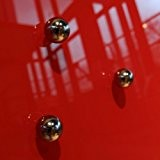 Raum-blick tableau en verre de 5 boules aimants en néodyme pour tableau magnétique/tableau mémo en verre