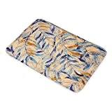 Rétro Feuilles d'automne en flanelle Tapis de sol britannique Art Tapis de bain antidérapant pour salon Intérieur/extérieur Alfombras rectangle Rugs ...