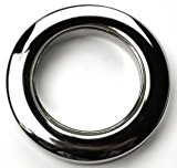 Rideau à oeillets en tissu anneaux–Idéal pour 16mm 19mm 25mm 28mm Diamètre poteaux