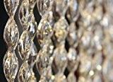 Rideau/Moustiquaire en PVC – modèle 21 - Bâtonnet D'ALUMINIUM - Made in Italy - Mesures Standard (90x200/100X220/120X230/130X240/150X250) - (150 X ...