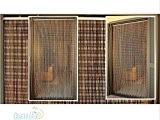Rideau/Moustiquaire en PVC – modèle Perle - Bâtonnet D'ALUMINIUM - Made in Italy - Mesures Standard (95x200/100X220/120X230/130X240/150X250) - (120X230, ARLEQUIN ...