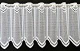 Rideaux brise-bise neutre 30 cm de haut | Vous pouvez choisir la largeur des rideaux par paliers de 26,5 cm ...
