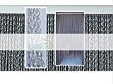 Rideaux pvc Modèle Roma - Mesure Standard (120x230, Transparent)