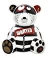 Ritzenhoff Petite tirelire en forme d'ourson signée Kathrin Stockebrand Motif Wanted