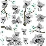Dimensions Stickersnews 20 cm Sticker enfant Koala r/éf 2546 Dimensions de 10 cm /à 130cm de hauteur