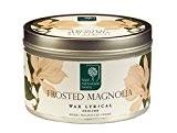 Royal Horticultural Society Bougie dans une boîte en métal Parfum Magnolia