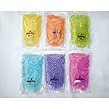 Sable décoratif–Sable décoratif–décoratif, créative et coloré–800g (2x 400g)–XL Pack–Ici dans la couleur Combinaison, Gelb / Türkis
