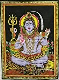 SEQUIN SHIVA WALL HANGING by uberdelic by Pilgrims Fair Trade