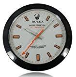 Série Rolex Wall Clock Foudre Mouvement Muet