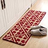 SESO UK- Tapis contemporain antidérapant tapis de cuisine utilitaire salle de bain Tapis de salle - 6 tailles ( Couleur ...