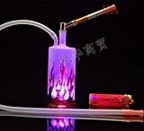 Shisha Narguilé Hookah Chicha Fumeur Pipe a Eau Cool Design Safari hubbly Flammes