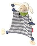 sigikid 41955 garçon, doudou mouton, coloris gris/écru, 'Schaf Schön'