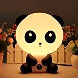 Signstek Lampe Enfant, Lampe chevet, Lampe Table, Lampe Nuit, Lampe Réveil En Forme de Panda