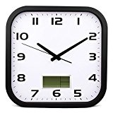 Silencieux simple carré horloge murale Mode Créative Salle de séjour Pastoral Quartz horloge murale (Couleur en option) ( couleur : ...