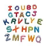 SODIAL(R) 26 A-Z Lettres de l'Alphabet Aimants en Bois Pour R¨¦frig¨¦rateur D¨¦coration de Maison