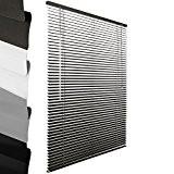 Sol Royal - Store venitien en aluminium - Gris - 50 x 130 cm - Montage simple sans vis - ...