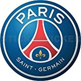 Sticker Autocollant Logo Emblème Football Paris Saint Germain Hauteur 100cm