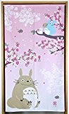 "Studio Ghibli My Neighbor Totoro Noren Rideau (japonais) de ""Printemps et Cherry Blossoms narumikk Japon 10316"