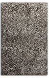 Sultansville Colorville Collection CVL-DG-46 Gris Foncé Tapis De Salon Shaggy Tapis Shaggy Pile Longue Tapis 120 x 180 cm