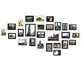 Sungle (Vision améliorée) Cadre photo en grand format 26 photos Set (Blanc et Noir amélioré)