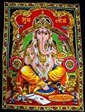 Suspension Murale Sequin Ganesh Par Uberdelic