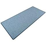 Tapis bleu doux casa pura® effet sisal | polypropylene + coton | salon, chambre, couloir | 7 couleurs | au ...