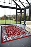 Tapis classique pas cher design Oriental/persan tapis salon ROYAL SHIRAZ 2079-RED 160x230