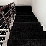 Tapis d'escalier Adhésif auto-adhésif Adhésif antidérapant Plaque en bois massif Plaque pad 1 bloc ( taille : 75*24cm )