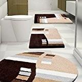 Tapis de bain Felix certifié Oeko-Tex 100 et lavable | poil très doux | plusieurs tailles au choix - 95cm ...