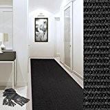 Tapis de couloir sur mesure casa pura® Sylt   tissé en fibres naturelles 100% sisal   11 couleurs   antidérapant ...
