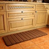 Tapis de cuisine Tapis de salle de bain antidérapant résistant à l'eau de couloir pour la maison et le bureau ...