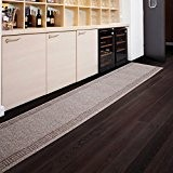 Tapis de passage casa pura® PRIMAVERA Beige   pour cuisine, couloir, entrée   poids du poil env. 1150 g par ...