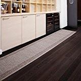 Tapis de passage casa pura® PRIMAVERA Beige | pour cuisine, couloir, entrée | poids du poil env. 1150 g par ...